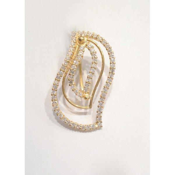 22k gold pendant set with swarovski 2950g sendit 22k gold pendant set with swarovski 2950g aloadofball Images