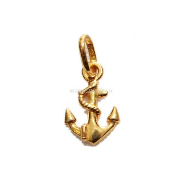 Send ejewels products online in sri lanka sendit 22k gold anchor pendant 2000 gm aloadofball Choice Image