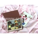 Papyrus Chocolate Rectangular Box: 12 Pieces