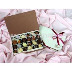 Papyrus Chocolate Rectangular Box: 24 Pieces