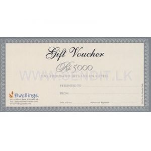 DWELLINGS STORE Gift Voucher Rs.5000/-