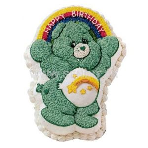 Care Bear shaped special cake.