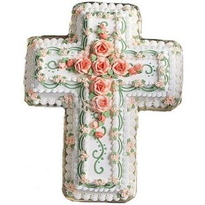 Cross shaped special cake