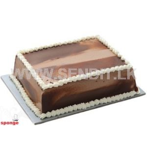Eggless Chocolate Cake - Sponge