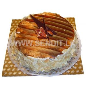 Chocolate Almond Gateau